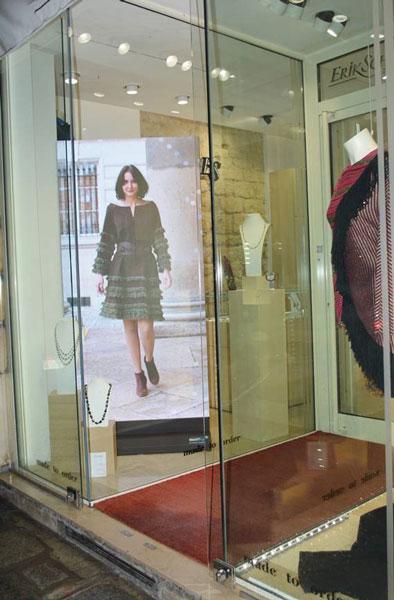 Led display Eric Shaix Paris
