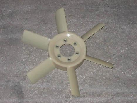 245-1308040 fan 6-bladed plastic