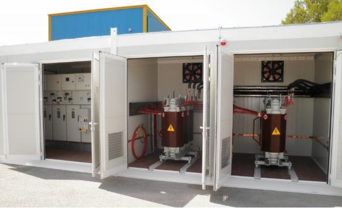 Electromechanical equipment shelters