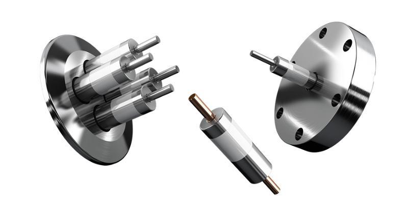 Vakuum-Stromdurchführungen