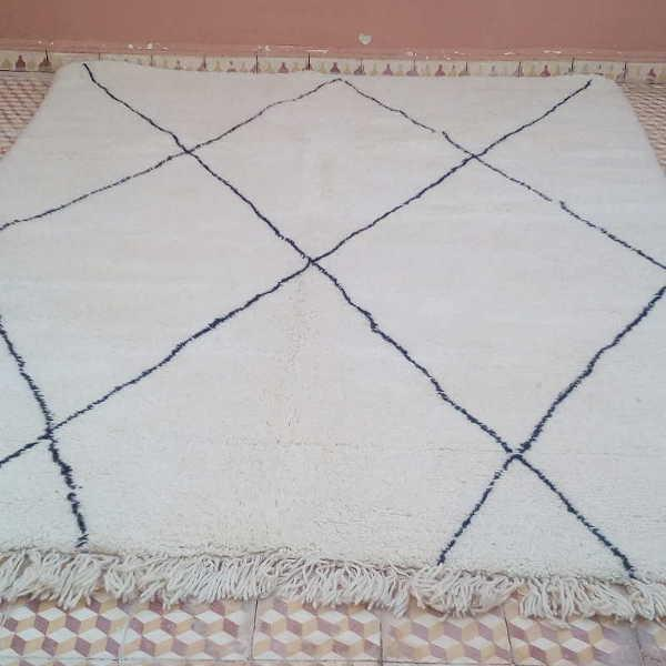 quoi de plus chic et convivial quun tapis beni ouarain des berbres du moyen - Tapis Beni Ouarain
