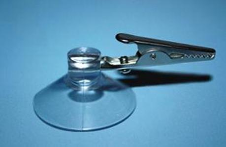 Suction cup 40mm with clamp