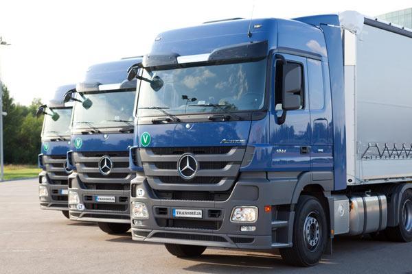 Transmeja, goods transportation