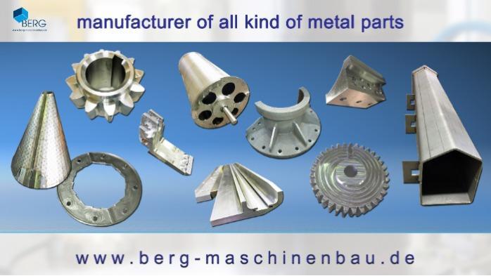 manufacturer of all kind of metal parts
