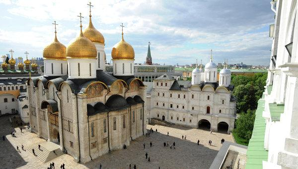 Escursions to Kremlin of Moscow