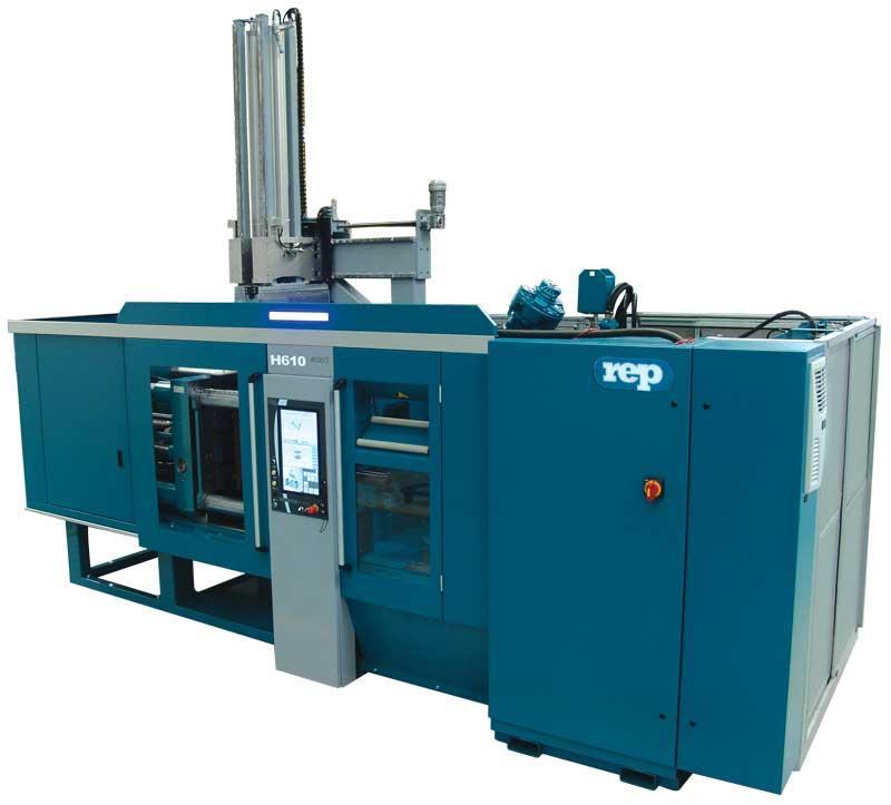 REP H49 horizontal rubber press