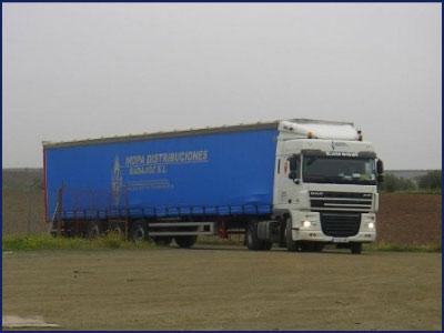 Transportes internacionales de mercancías por carretera