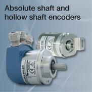 Absolute shaft and hollow shaft encoders