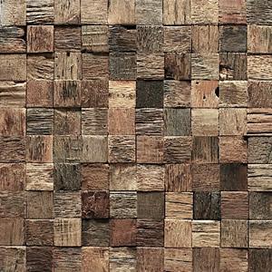 Carrées de bardage en vieux bois