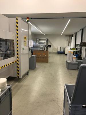 CoraPleat Produktion