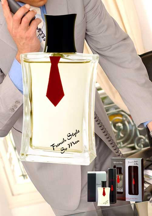 Warm and mysterious fragrance for men