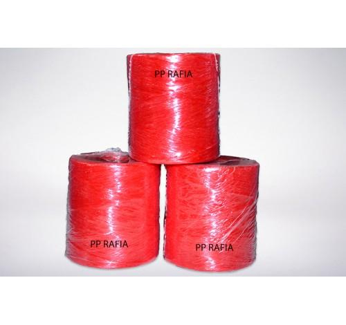 We produce PP raffia for binding and baying hay.