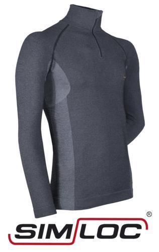 ORANGE_LINE Zipper-Shirt