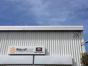 Bürogebäude der Webcraft GmbH in Gottmadingen