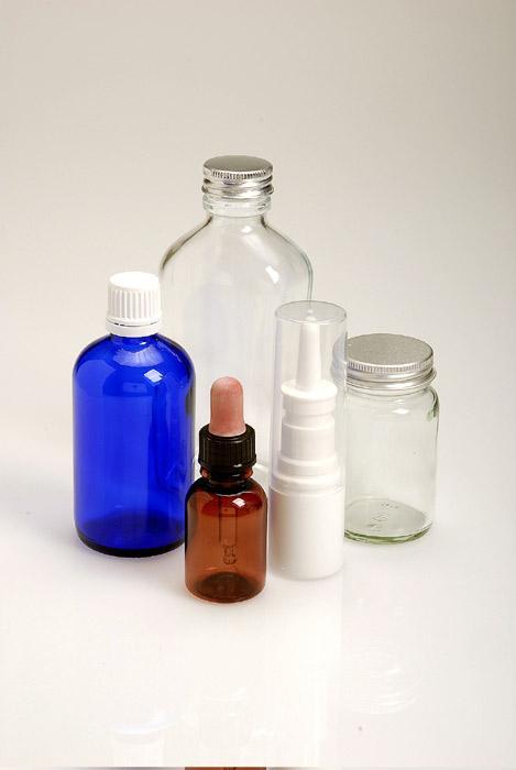 Flacons en plastique pour laboratoires