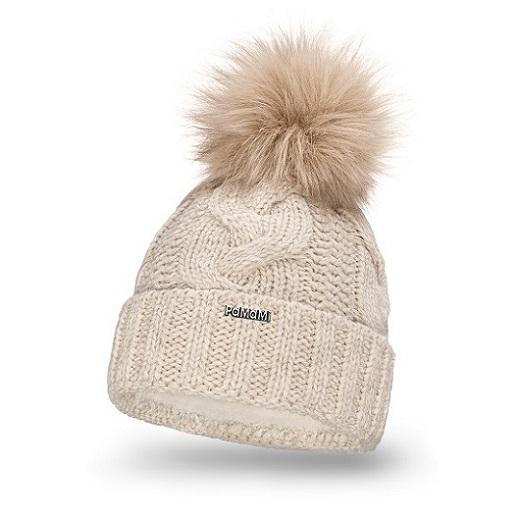 Double roll women's winter hat