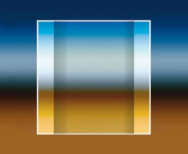 Glas-Quarzzylinder