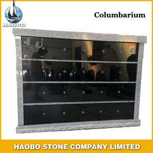 Haobo Granite Columbarium with 80 niches