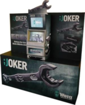 Slot Machine als freistehende Messeinsel