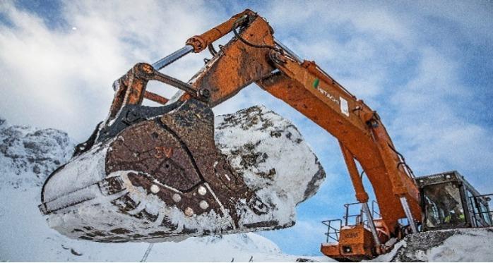 Benna Roccia per escavatore