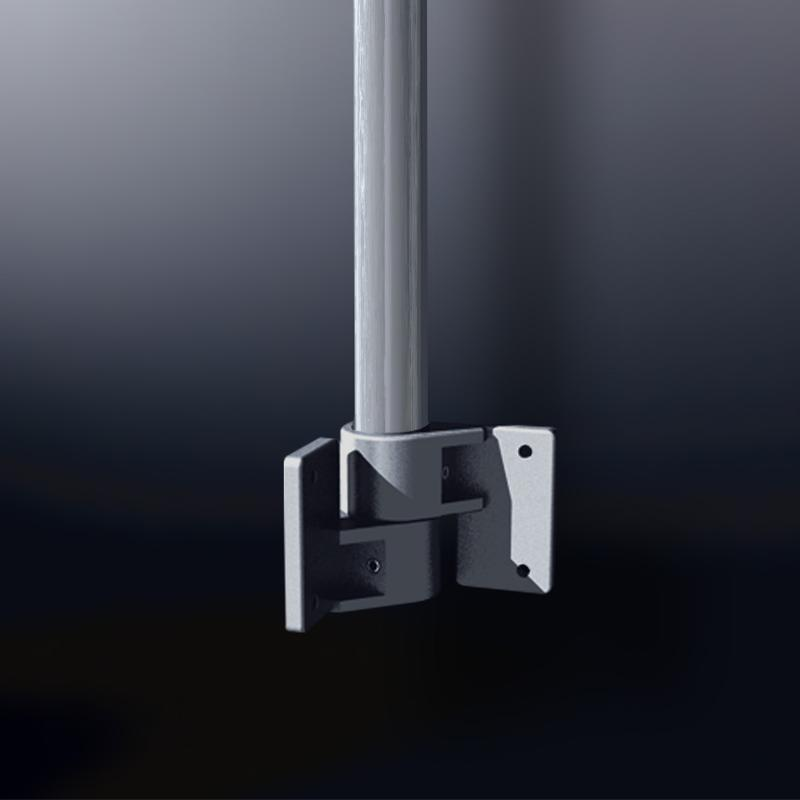 Corner Tube Bracket, flexible