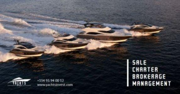 Yachts Invest Cannes Sale Brokerage Charter Management
