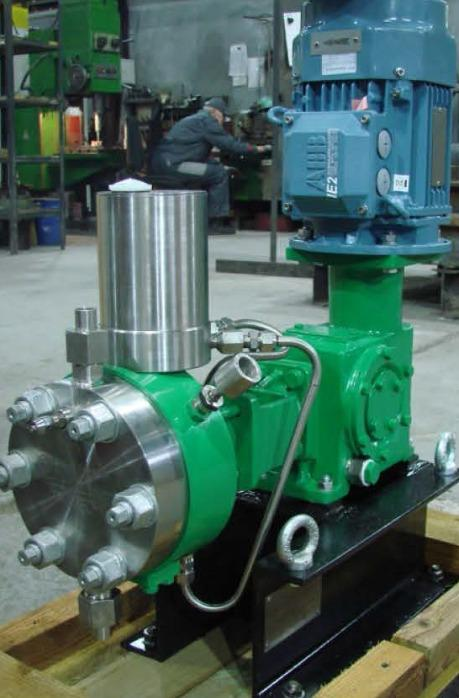 One-plunger pumping units