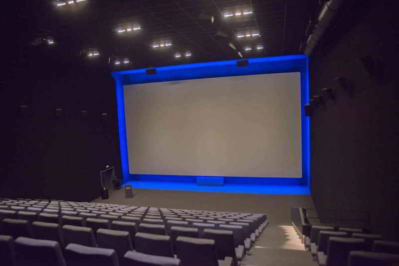 Cinema screen aluminium frame multivision