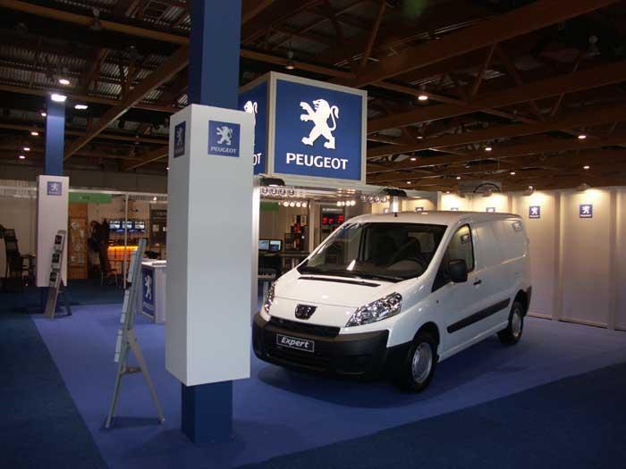 Stands d'exposition - Peugeot
