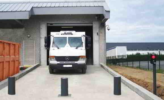 Sécurisation d'une base logistique de transport de fond