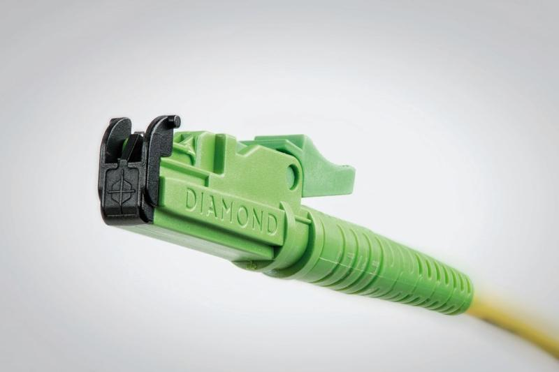 E-2000™ safety push-pull fiber optic connector