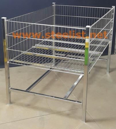 Supermarket Storage Wire Baskets