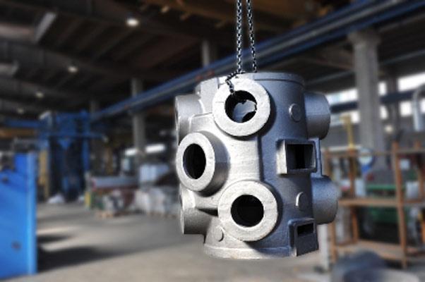 Cilindro in EN-GJS400-15 kg. 1.200