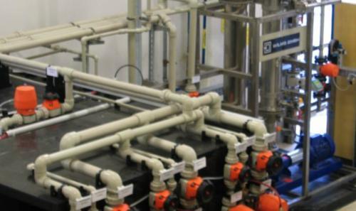 Abwasseranlage für Zulieferbetriebe