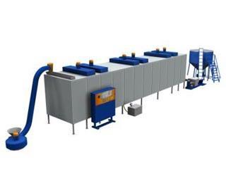 conveyor drying complex