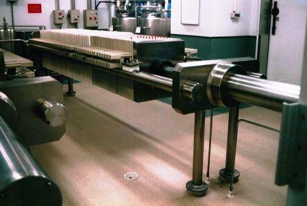 Filtre presse poour brasserie - process inox