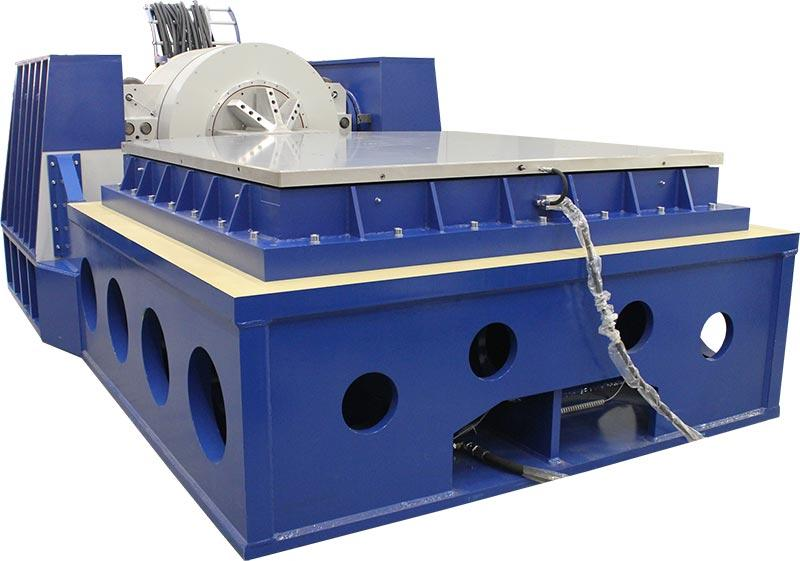 300 kN shaker with slip table