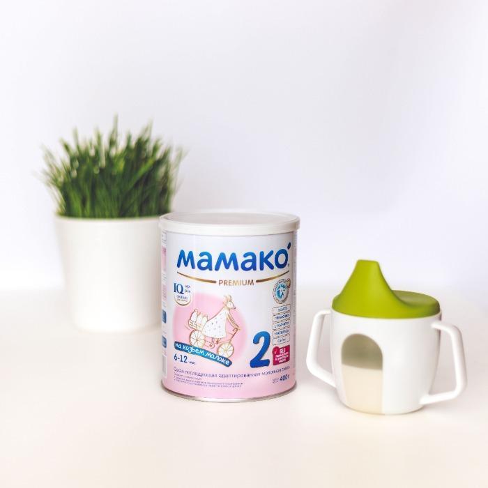 Premium goat milk-based infant formula (6 – 12 months)
