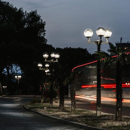 LUMENIA Street light T LUM Retrofit