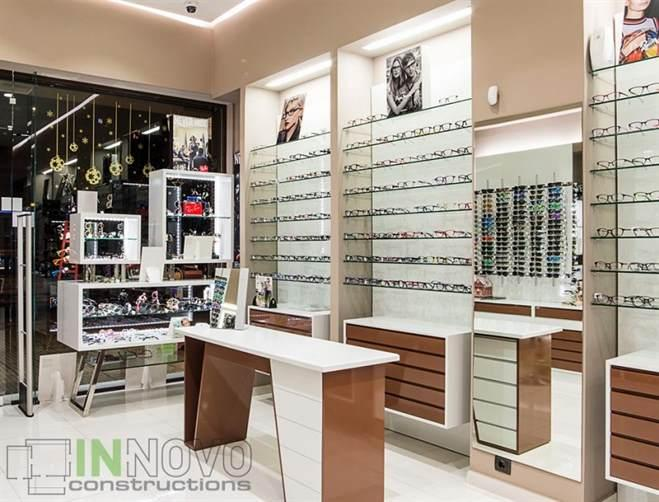 Opticians renovations