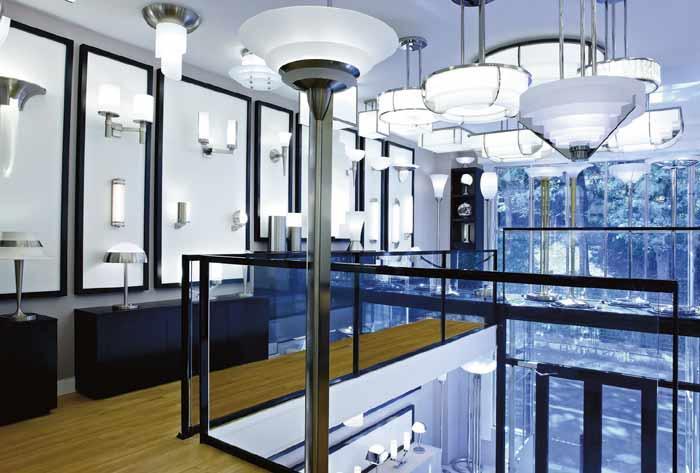 showroom ateliers Jean Perzel Paris
