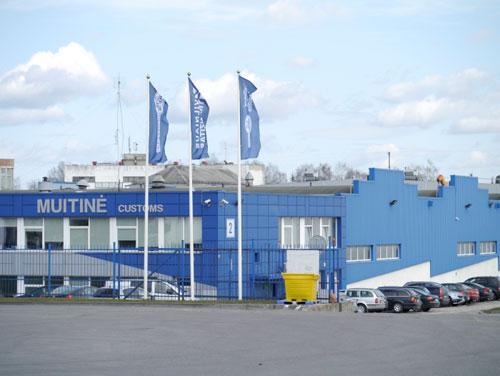 International transportation terminal Vilnius Lithuania