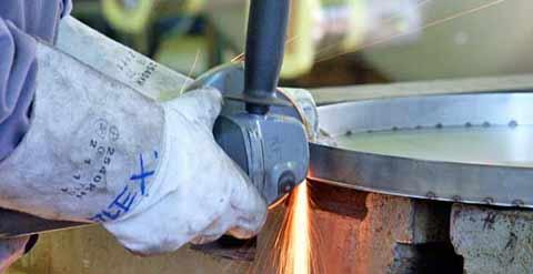 aciers inoxydables piéces usinées