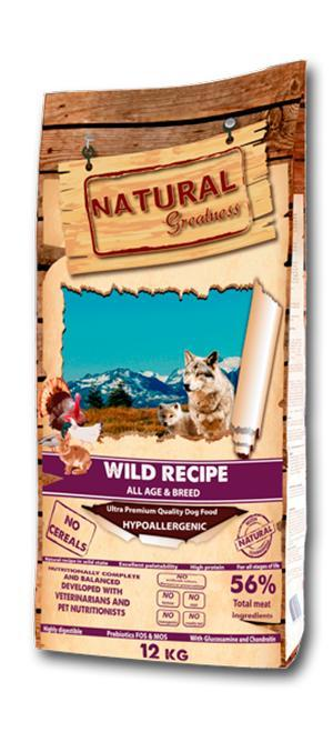 WILD RECIPE - Ultra Premium Quality Dog Food