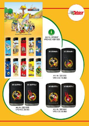 Lizenz Asterix Feuerzeuge