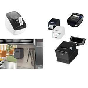 Différents modèles d'imprimantes