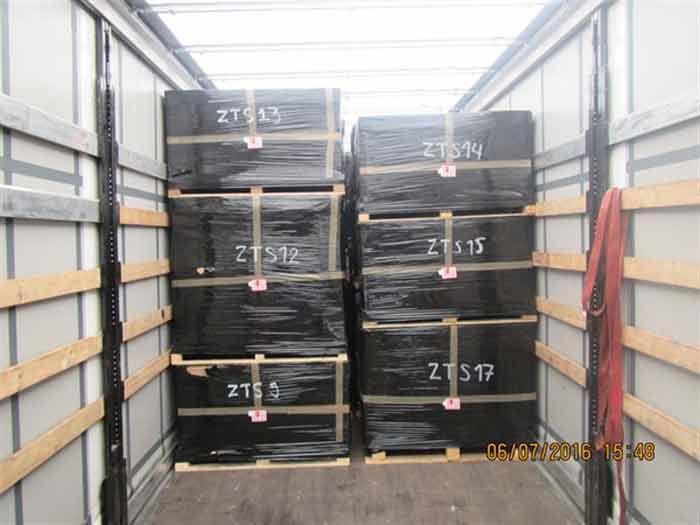 Efficient TRUCK loaded pallets Genuine Autoparts Ltd BULGARIA