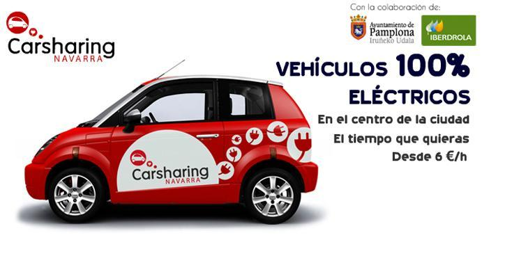 Electric car sharing in Pamplona