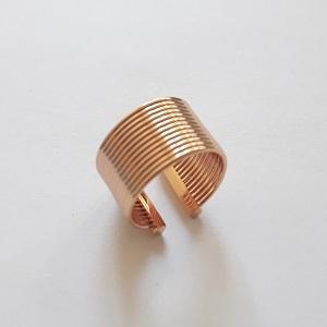 STEEL GOLD RING