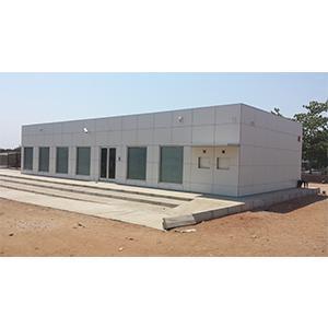 Modular Prefab Bank Agency